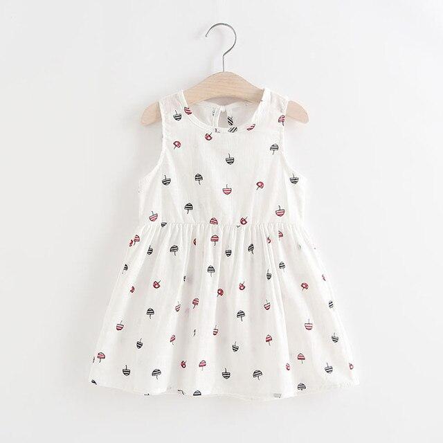 2020 nowy małe dziewczynki letnia sukienka typu princesse dla dzieci impreza dla dzieci ślubne sukienki bez rękawów