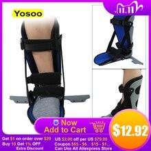 Ankle Brace Unterstützung Fuß Tropfen Splint Schutz Verstauchung Orthese Frakturen Ankle Hosenträger Für Erste Hilfe Plantarfasziitis Ferse Schmerzen