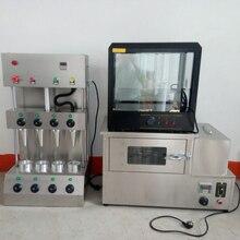 150-180 шт/ч автомат для приготовления пиццы печь для пиццы в рожке и машина для пиццы в рожке профессиональный