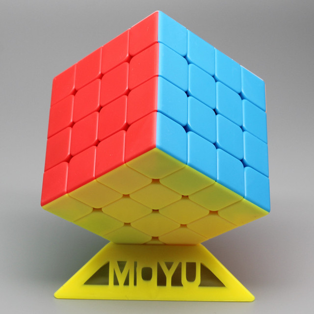Moyu Meilong 4x4 Magic Cube 59mm Size Stickerless 4x4x4 Cubo Magico WCA Competition Learning&Educational Toys For Children 3