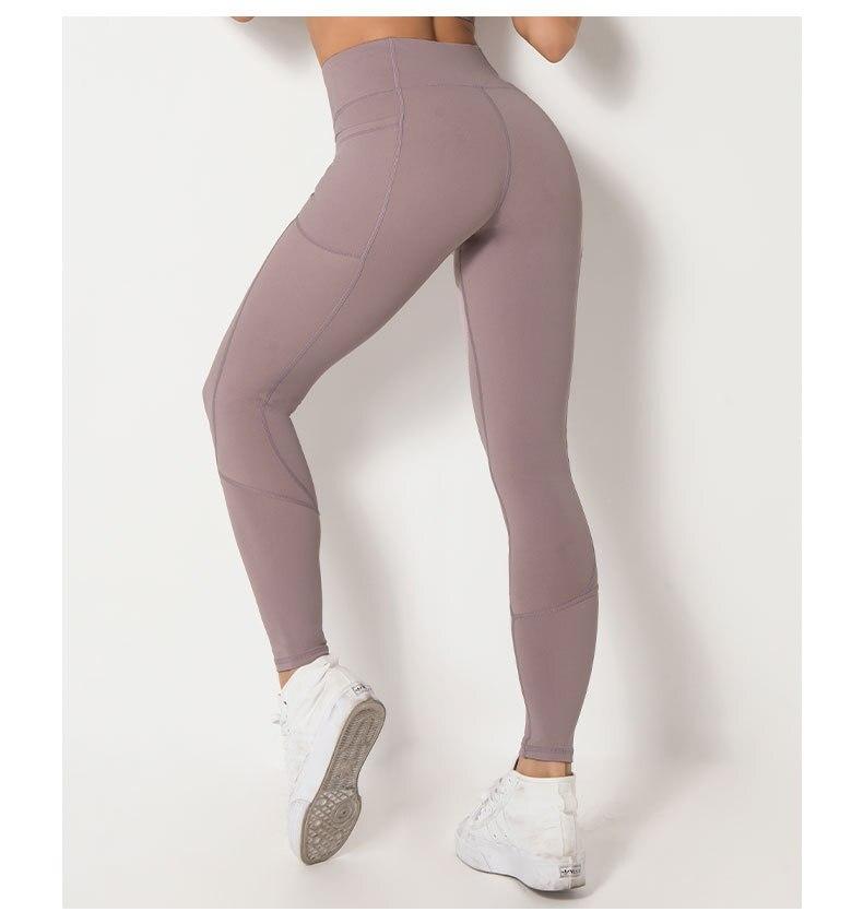 Worpro mulheres elástico calças de yoga comprimento