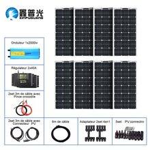 800 Вт солнечная панель системы от 12 В до 110 220 включая 8