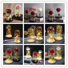 Decoração de casamento rosa cristal cúpula presentes de natal para noivas e famílias