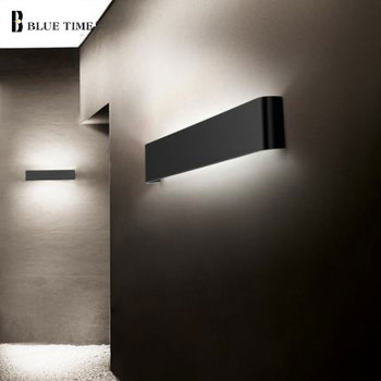 Metal Led Wall Lamp Black&White Modern Sconces Wall Light Mirror Light Bathroom Lamp Bedside Light Wall Led  Light Fixtures led wall light for home modern sconces wall lamp 10w black