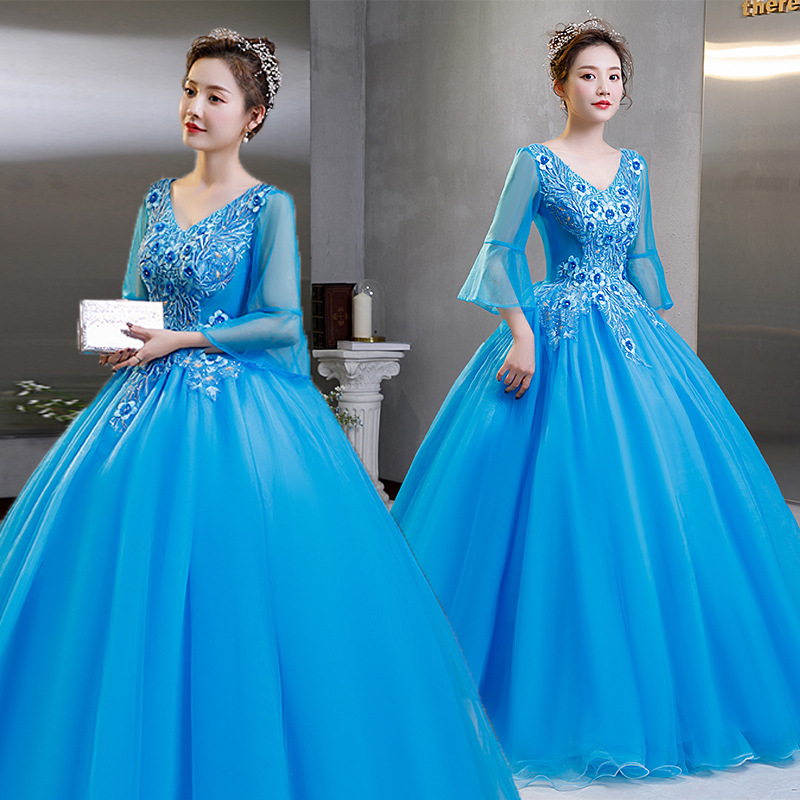 New Stock Cheap Lace Quinceanera Dresses 2021 Ball Gown Prom Dress Sweet 16 Dress For 15 Years Corset Vestidos De 15 Anos