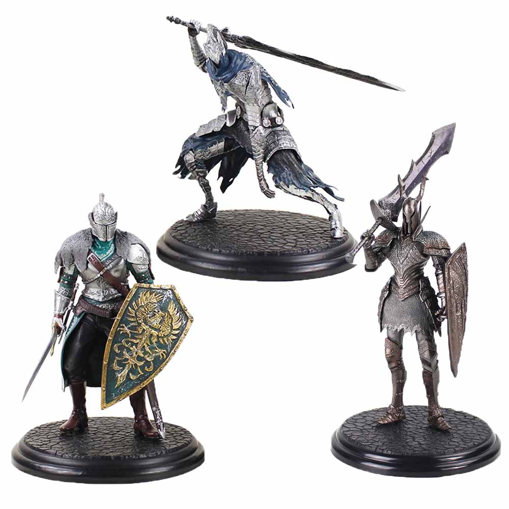 21cm Dark Souls 2 Warrior Black Knight Big Sword Shield Top Games PVC Ation Figure Collectible Model Toy|Action & Toy Figures|   - AliExpress