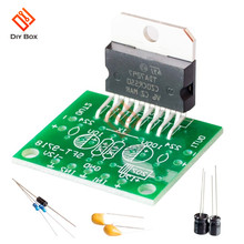 TDA7297 Amplifier Board module Spare Parts DC 12v 2.0 Dual Audio Encoding 15w Electronic Diy Kit Speaker Audio Amplificador(China)