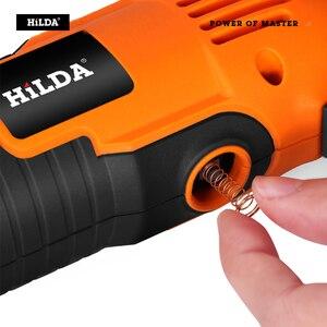 Image 4 - HILDA Elektrische Bohrer Dremel Schleifer Gravur Stift Mini Bohrer Elektrische Dreh Werkzeug Schleifen Maschine Dremel Zubehör Power Tool