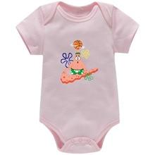 Girl Baby Bodysuit Summer New Born Baby Clothes Jumpsuit Infant Boy Unisex Romper Clothes
