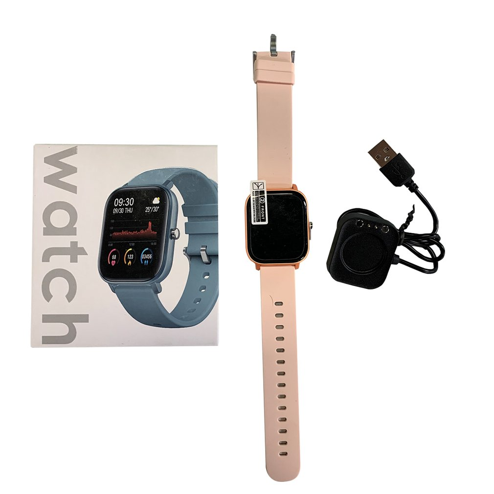 P8 IP67 Waterproof 1.4 Inch Full Touch Screen Heart Rate Blood Smart Sports Watch part