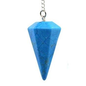 Εξάγωνη πέτρα φυλαχτό φυσικής θεραπείας reiki chakra