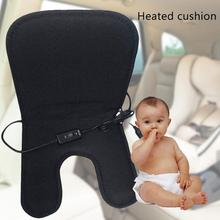 12V Universal Auto Winter Car Seat Cover Warm Seat Heating With Lighter And Switch Car Heating Seat Cushion For Children