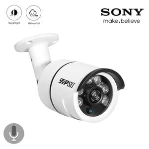 Image 1 - 4 pièces Lot Six rangée led dextérieur 8mp 4K,5mp,4mp,2mp, Audio IP66 étanche vidéosurveillance AHD caméra