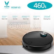 VIOMI – aspirateur Robot V3, silencieux, 2600Pa, chargement automatique, nettoie les sols durs et les tapis à poils moyens