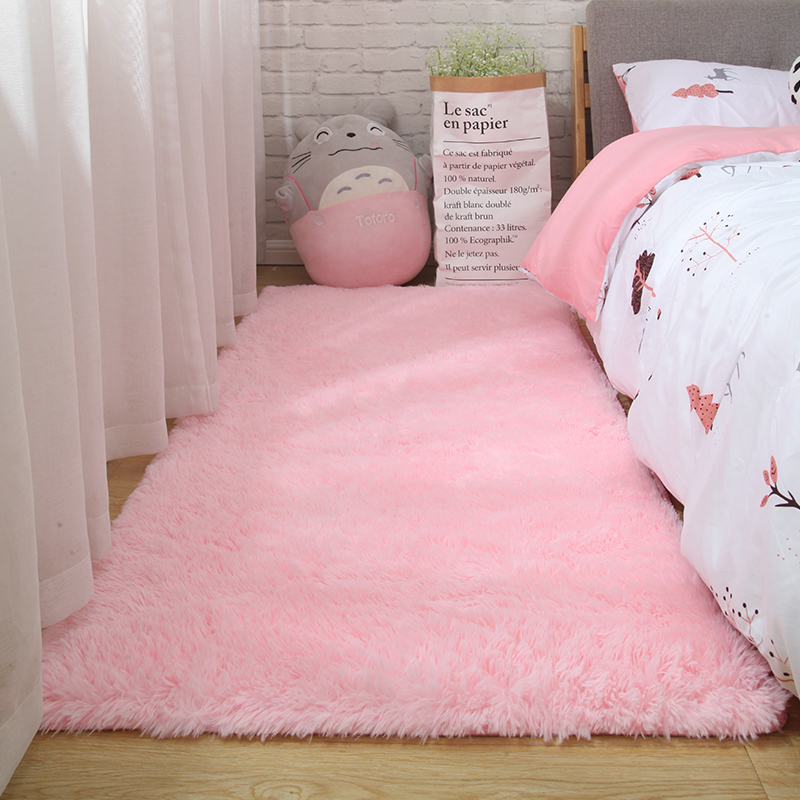 Fluffy Tie Dye Carpets For Bedroom Decor Modern Home Floor Mat Large Washable Nordica in the Living Room Soft White Shaggy Rug 20
