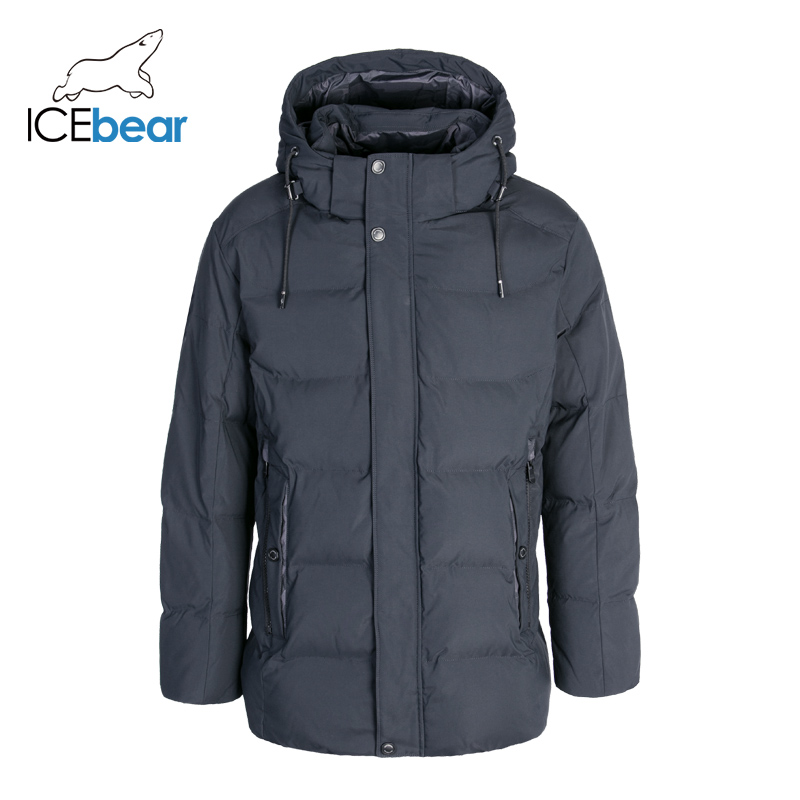 ICEbear 2019 Winter Men's Clothing Warm Male Jacket High Quality Men's Parkas MWD19941I