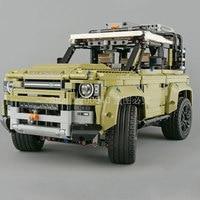 42110 Land Car Rover Defender Creator Ideas Technic SUV Classic Car 2573Pcs Building Blocks Bricks Kids Toys 93018