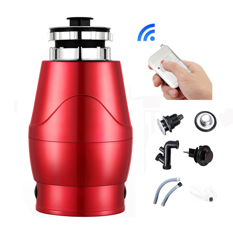 Food Garbage Disposal Crusher waste disposers Stainless steel Grinder kitchen appliances Germany technology 370W