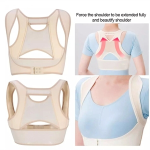 Invisibility Back Posture Correction Belt Bandage Men Women Humpback Relief Vest Spine Posture Corrector Up Back Braces Corset