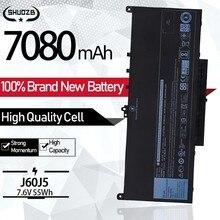 New J60J5 MC34Y 0MC34Y J60J5 Laptop Battery For Dell Latitude E7270 E7470 E7260 Battery 7.6V 55WH 7080mAh