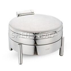 Okrągłe stalowe pokrycie (na kuchenka indukcyjna) jadalnia hotelowa restauracja sos do zupy sos do sosu piec do przechowywania pieca okrągłe szkło w Roboty kuchenne od AGD na