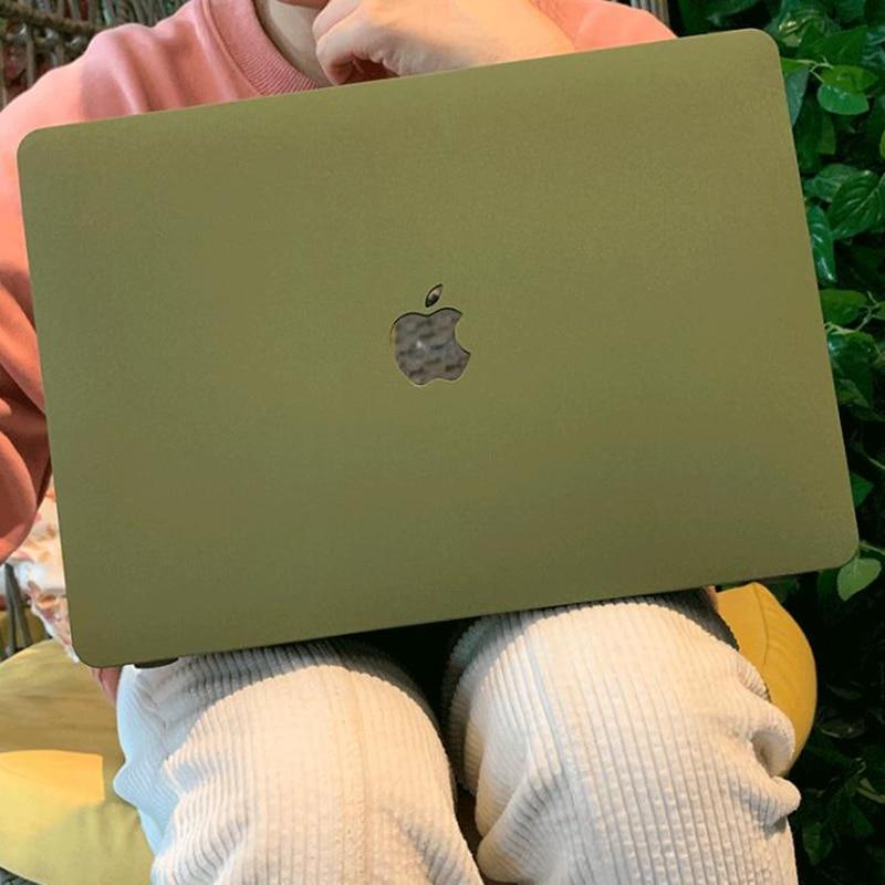 Quicksand – coque rigide pour ordinateur portable, étui souple pour Apple MacBook Air 13 13.3 A1369 New Pro 13 15 Retina 15.4 A1932