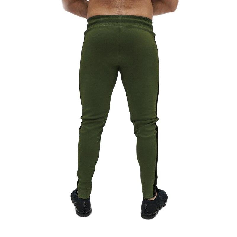 Sik calças masculinas skinny, seda, elásticas, para