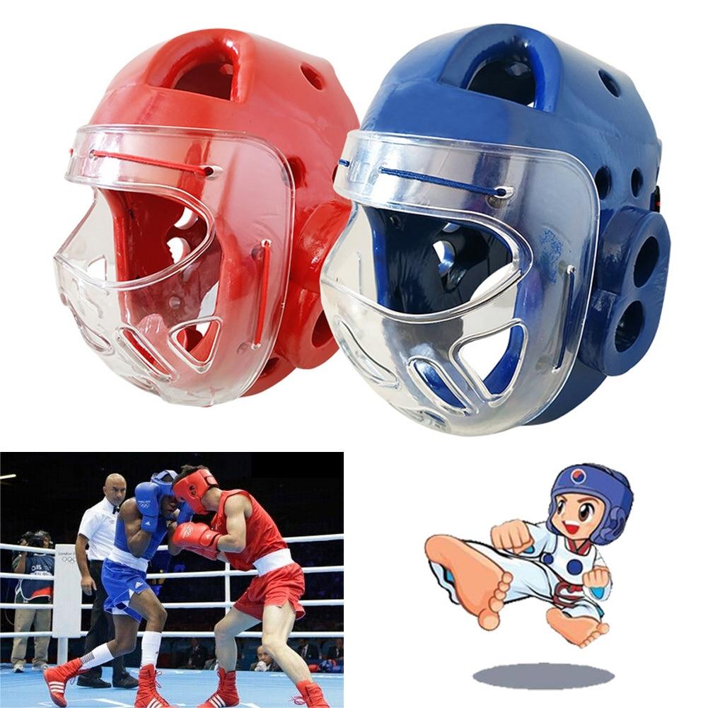 Kids Children Head Guard Gear Head Protector Helmet For Kickboxing Taekwondo HOT