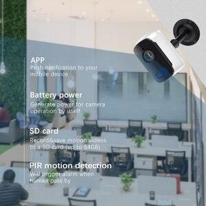 Image 5 - 1080P HD WiFi IP מצלמה חיצוני אבטחה אלחוטית סוללה תשלום מצלמה אודיו מעקב CCTV PIR זיהוי תנועה Camhi פרו