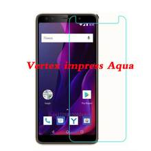 For Vertex Impress Aqua Glass Screen Protector 2.5D 9H Premium Tempered Glass For Vertex Impress Aqua Phone Film(China)