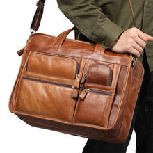 Мужские сумки почтальонки из натуральной кожи мужские коричневые