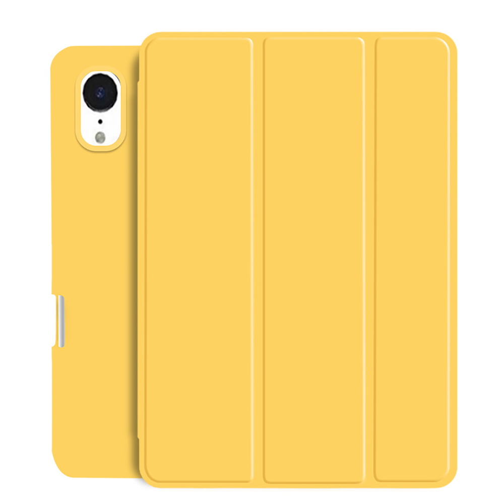 Yellow Pink Tablet Case For New iPad Air 4 10 9 2020 Soft Silicone Cover With Pencil Holder