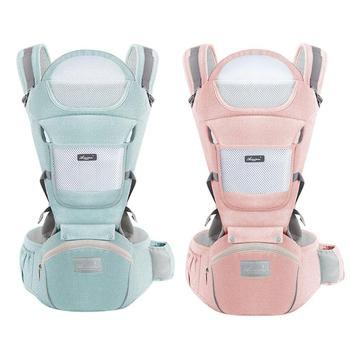 Baby Sling Waist Stool Universal Front Hug Summer Baby Carrier Strap Breathable Holding Belt for The Four Seasons teknum baby strap multi functional four seasons common front bracelet baby stool summer single stool hold baby artifact