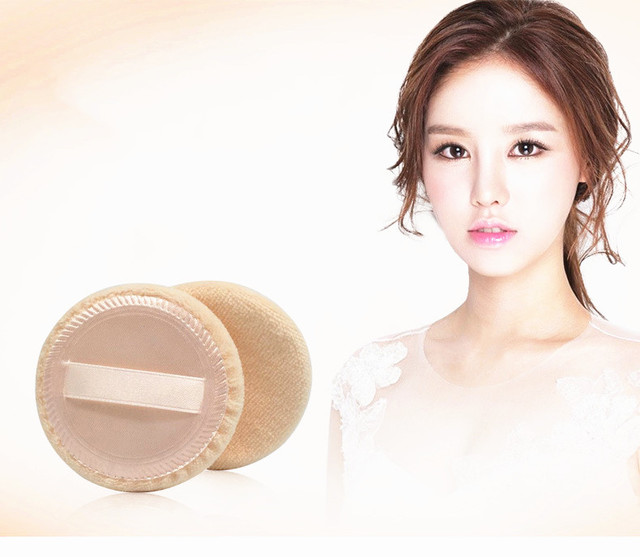New 2020 Arrivals 2/6Pcs Women Beauty Facial Face Body Powder Puff Cosmetic Beauty Makeup Foundation Soft Sponge Girl Lady Gift 2