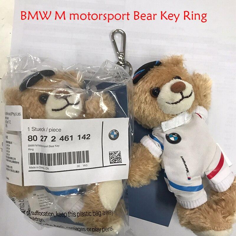 Universel pour BMW M motorsport ours porte-clés Motorsport série ours porte-clés