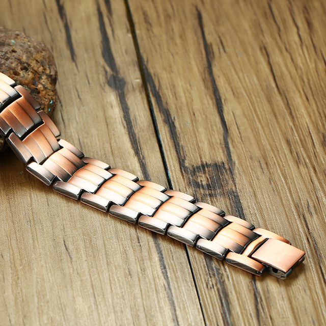 Copper Bio Magnetic Bracelet for Men