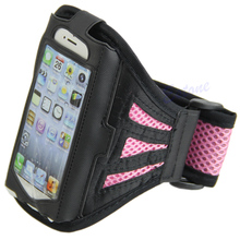 Outdoor Gym Sport Workout Running Armband Adjustable Case Cover For iPhone 5S 5C цена