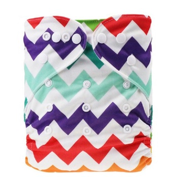 One Size Pocket Cloth Diaper 2020 Washable Reusable Infant Nappy Cover Waterproof PUL Baby Cloth Diapers with Lovely Printed lecy eco life one size sleeve diaper with color tab square tab baby reusable nappy with stay dry suede cloth inner wholesale