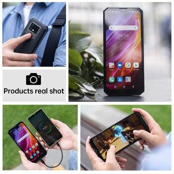 "OUKITEL K15 Plus 10000mAh NFC Smart Phone  6.52"" 3GB RAM 32GB ROM Cell Phone Quad Core Android 10 Mobile Phone MT6761 13MP 6"