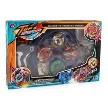 Beyblades Арена стадион Металл Fusion 4D битва металлический верх Beyblades взрыв мастера пусковой захват детская Рождественская игрушка