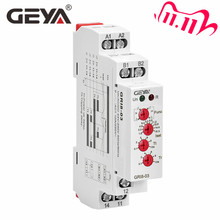 Ücretsiz kargo GEYA GRI8 03 aşırı akım veya akım ayarlanabilir röle 0.05A 1A 2A 5A 8A 16A akım rölesi