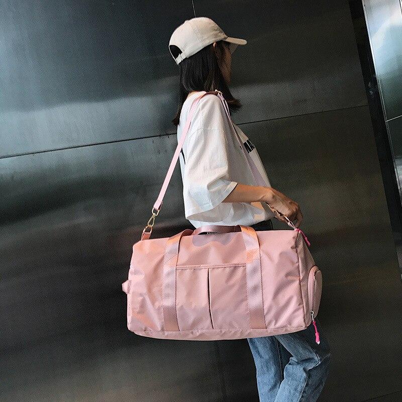 Travel Bag Wholesale Wet And Dry Separation Sports Large-Volume Yoga Bag Women's Sports Training Gym Bag Customizable Logo