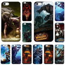 World of Warcrafts Design Soft TPU Silicone Mobile Phone Cas