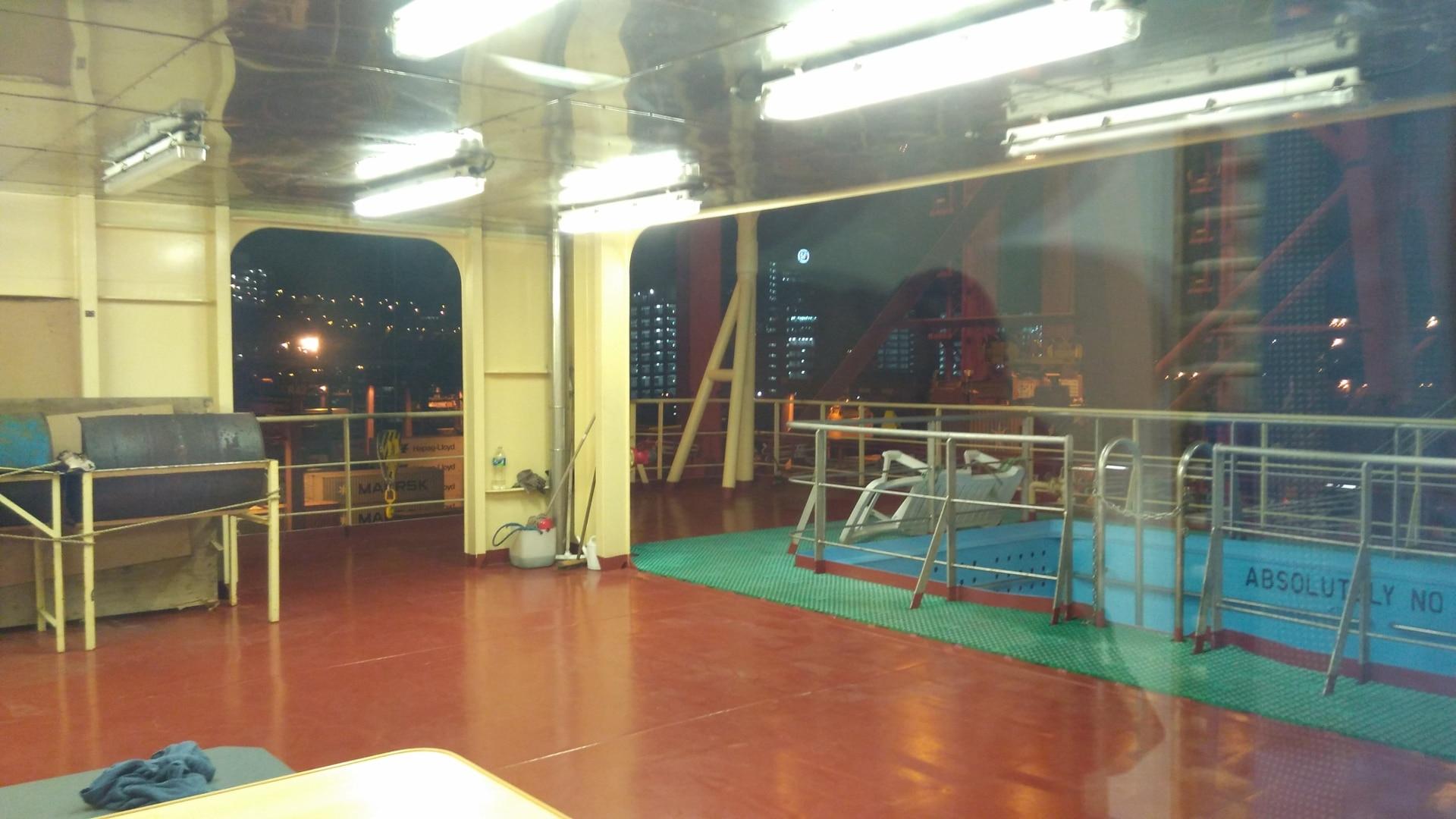 夜访Maribo Maersk