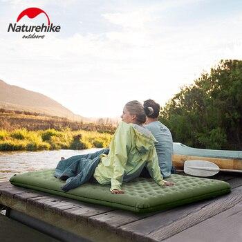 Naturehike Thicken Camping Mat Air Bed Outdoor Inflatable Mattress Ultralight Portable Tent Sleeping Bag Moisture-proof Pad NH
