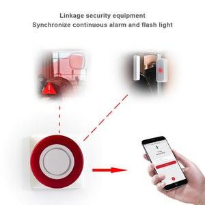 Image 3 - HEIMAN Z wave Siren alarm flash strobe Light Zwave Sound speaker 95dB for Z wave smart home security Burglar System