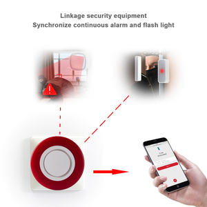 Image 3 - Heiman Z Wave Sirene Alarm Flash Strobe Light Zwave Sound Speaker 95dB Voor Z Wave Smart Home Security Inbreker systeem