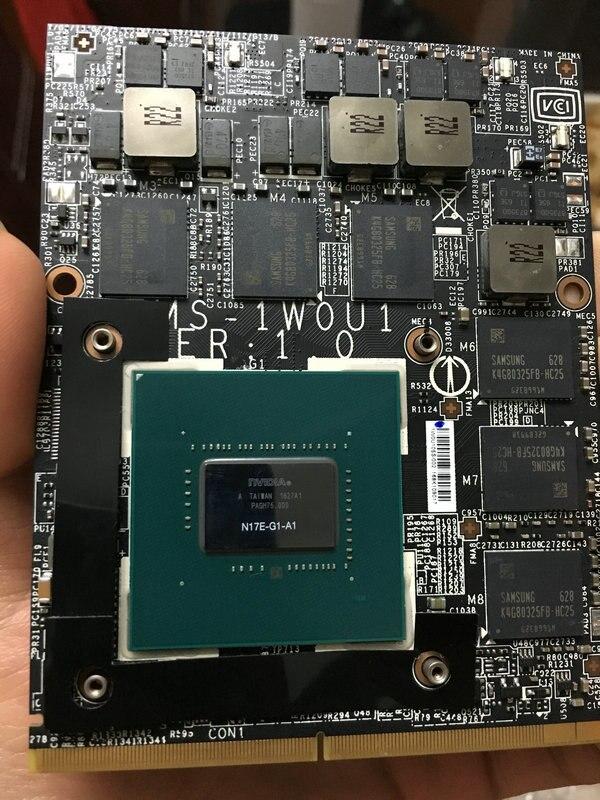 MXM GTX1080 1070 1060 980M Notebook 970M Graphics Card RTX2060 2070 2080