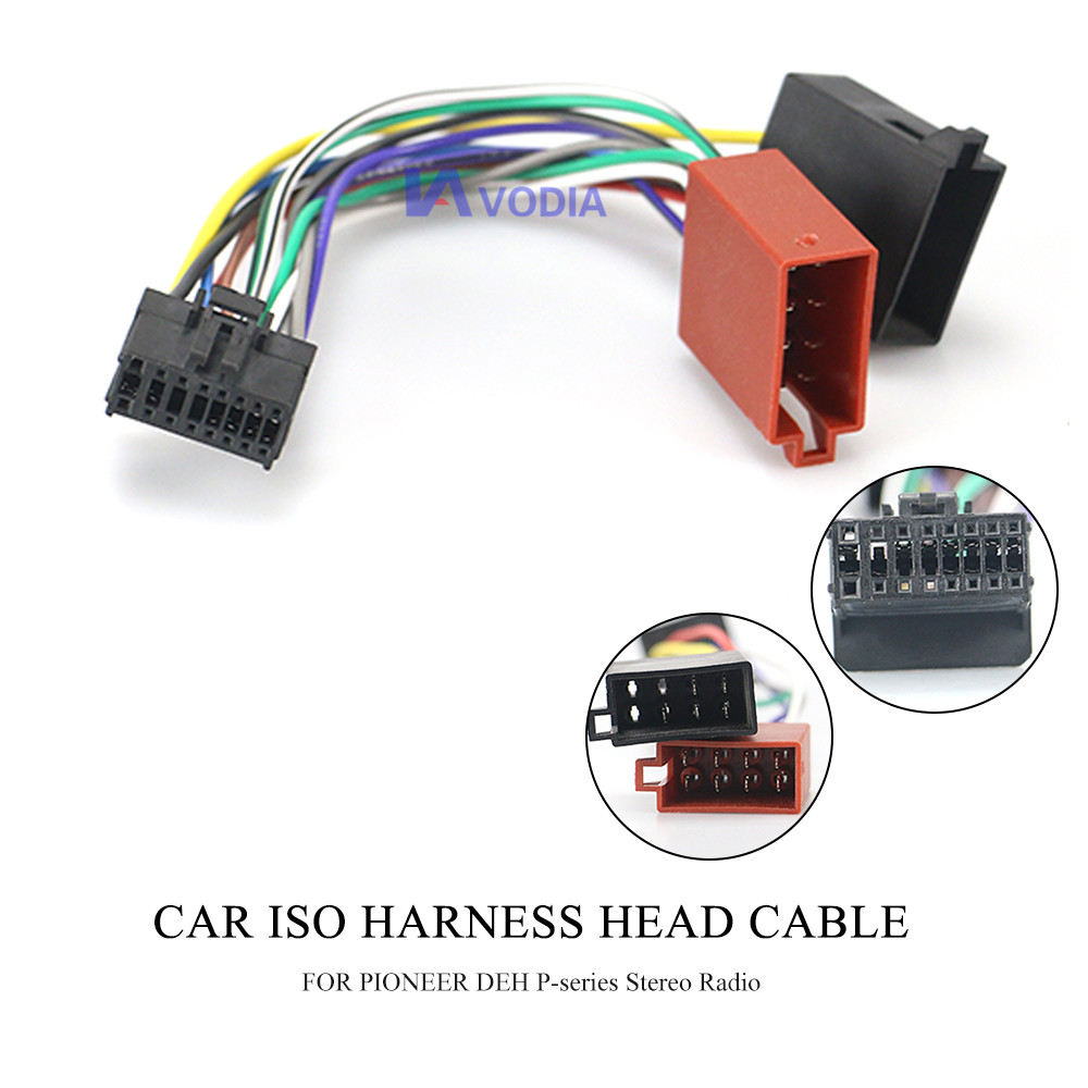 pioneer car stereo radio wiring 15 106 car iso harness head cable for pioneer deh p series stereo  iso harness head cable for pioneer deh
