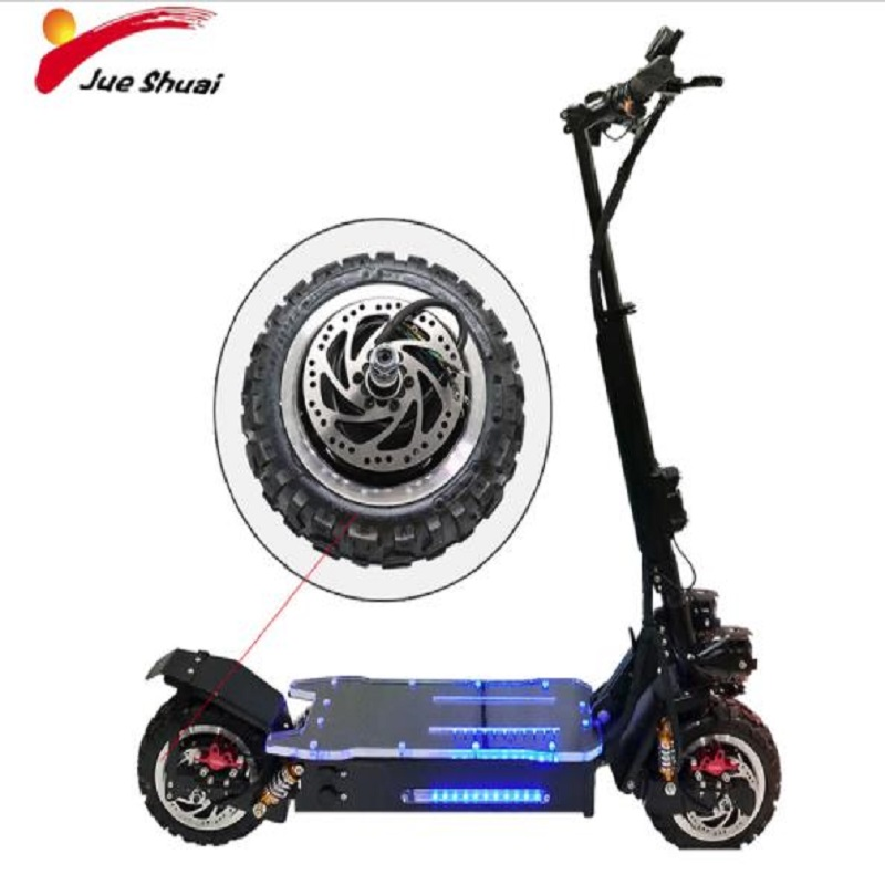 """60V 1600W Scooter Electric Motor Off Road/Road Tire Electrico Motor Hub Engine Wheel for 11"""" Hoverboad Skateboard Kick E Scooter